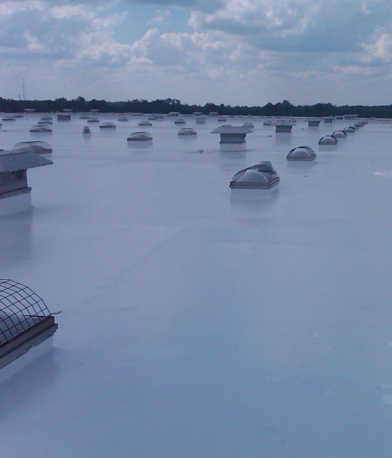 Commercial Roof Coatings Silicone Roof Coating