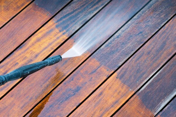 Deck Power Washing - Northern New Jersey